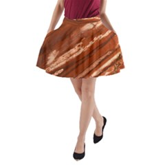 Red Earth Natural A-Line Pocket Skirt