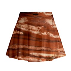 Red Earth Natural Mini Flare Skirt