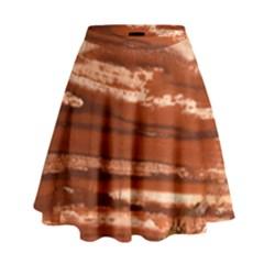 Red Earth Natural High Waist Skirt