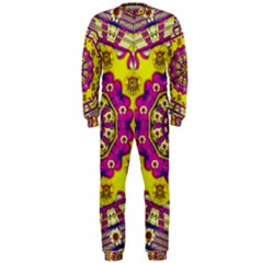 Celebrating Summer In Soul And Mind Mandala Style Onepiece Jumpsuit (men)