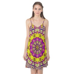 Celebrating Summer In Soul And Mind Mandala Style Camis Nightgown