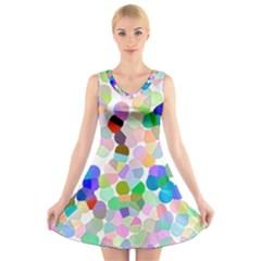 Img 0796 1 V-Neck Sleeveless Skater Dress