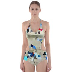 Beach333 Cut-Out One Piece Swimsuit