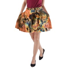 Naturally True Colors made by Mother Earth. A-Line Pocket Skirt