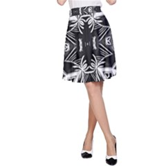 Mathematical A Line Skirt