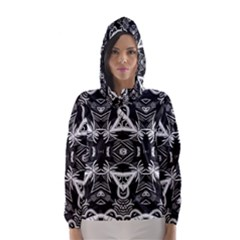 Mathematical Hooded Wind Breaker (women)