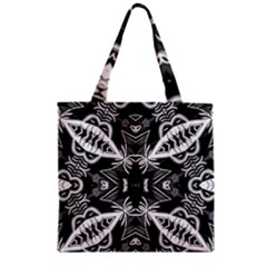 Mathematical Zipper Grocery Tote Bag