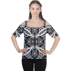 Mathematical Women s Cutout Shoulder Tee