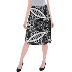 Mathematical Midi Beach Skirt