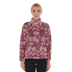 Marsala Leaves Pattern Winterwear