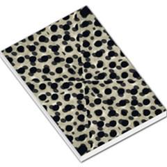 Metallic Camouflage Large Memo Pads