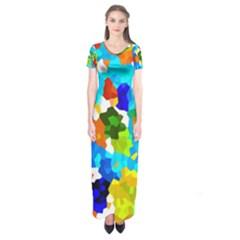 Ar000803 (3)11 Short Sleeve Maxi Dress