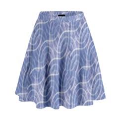 Modern Abstract Geometric High Waist Skirt