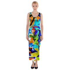 free Fitted Maxi Dress