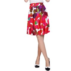 Abstract Land2 111 A-Line Skirt