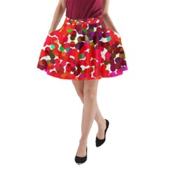Abstract Land2 111 A-Line Pocket Skirt