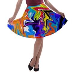 Ar000803 (3)11111 A-line Skater Skirt