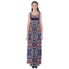 SPACE WALLS Empire Waist Maxi Dress