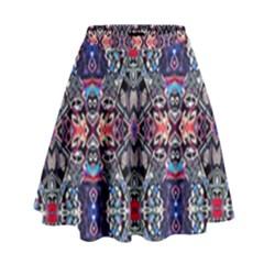 Space Walls High Waist Skirt