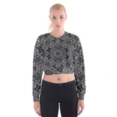 floor trial Women s Cropped Sweatshirt