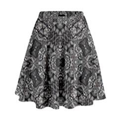 Floor Trial High Waist Skirt