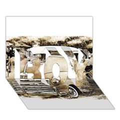 Vintage Chevrolet Pick up Truck BOY 3D Greeting Card (7x5)