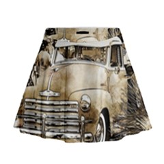 Vintage Chevrolet Pick up Truck Mini Flare Skirt