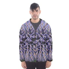 Globe Mallow Flower Hooded Wind Breaker (Men)