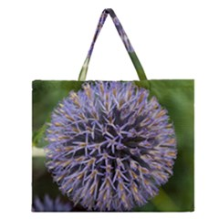 Globe Mallow Flower Zipper Large Tote Bag
