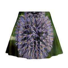 Globe Mallow Flower Mini Flare Skirt