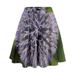 Globe Mallow Flower High Waist Skirt