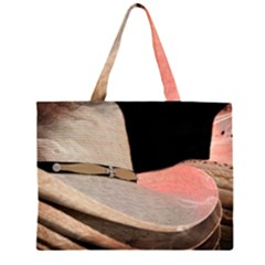Straw Hats Large Tote Bag