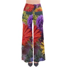 Colorful Flowers Pants