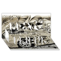 Old Ford Pick Up Truck  Best Friends 3D Greeting Card (8x4)