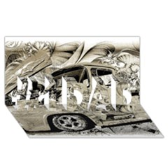 Old Ford Pick Up Truck  #1 DAD 3D Greeting Card (8x4)