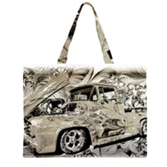 Old Ford Pick Up Truck  Large Tote Bag