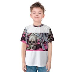 Skull And Bike Kid s Cotton Tee