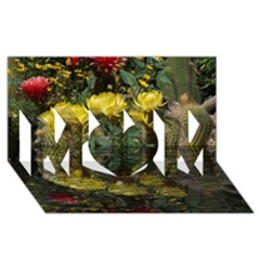 Cactus Flowers with Reflection Pool MOM 3D Greeting Card (8x4)