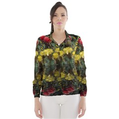 Cactus Flowers with Reflection Pool Wind Breaker (Women)