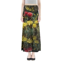 Cactus Flowers With Reflection Pool Maxi Skirts