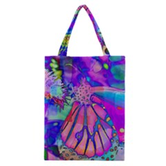 Psychedelic Butterfly Classic Tote Bag