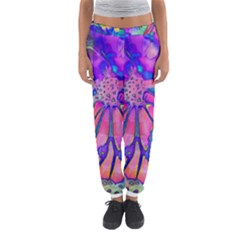 Psychedelic Butterfly Women s Jogger Sweatpants