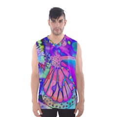 Psychedelic Butterfly Men s Basketball Tank Top