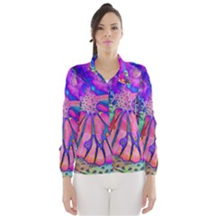Psychedelic Butterfly Wind Breaker (Women)