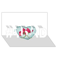 Love Ornate Motif  #1 DAD 3D Greeting Card (8x4)