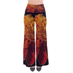 Marigold on Black Pants