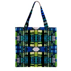 Lit081112013 Zipper Grocery Tote Bag
