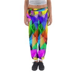 Colorful triangles                                                                  Women s Jogger Sweatpants