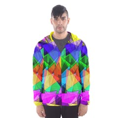 Colorful triangles                                                                  Mesh Lined Wind Breaker (Men)