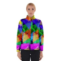 Colorful Triangles                                                                  Winter Jacket